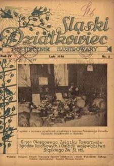 Śląski Działkowiec. 1936, R. 4, nr 2