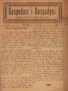 Gospodarz i Gospodyni. 1904, R. 2, nr 10