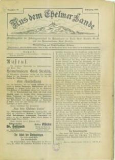 Aus dem Chelmer Lande, 1930, [Jg. 6], nr 10