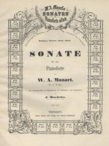 Sonate für das Pianoforte. Nr. 3 D dur