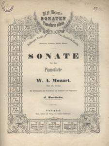 Sonate für das Pianoforte. Nr. 15 B dur