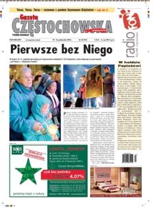 Gazeta Częstochowska, 2005, nr42 (724)