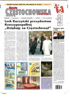 Gazeta Częstochowska, 2005, nr43 (725)