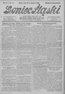 Goniec Śląski, 1922, R. 2, nr 14