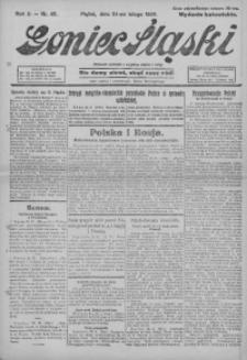 Goniec Śląski, 1922, R. 2, nr 45