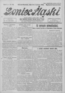 Goniec Śląski, 1922, R. 2, nr 82