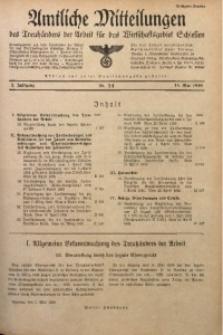 Amtliche Mitteilungen, 1936, Jg. 2, Nr. 14