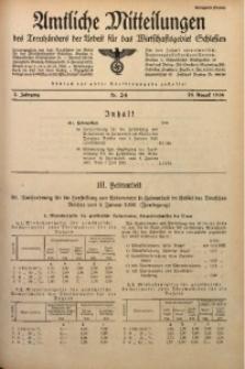 Amtliche Mitteilungen, 1936, Jg. 2, Nr. 24