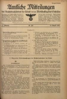 Amtliche Mitteilungen, 1937, Jg. 3, Nr. 24