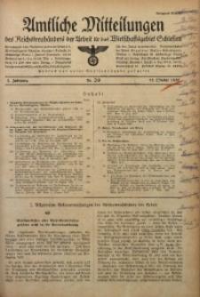 Amtliche Mitteilungen, 1937, Jg. 3, Nr. 29