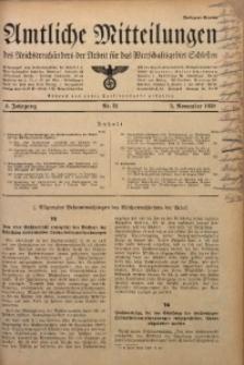 Amtliche Mitteilungen, 1938, Jg. 4, Nr. 31