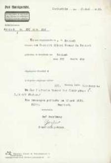Wyrok Sądu Rejonowego w Głubczycach z 17.05.1933 r.