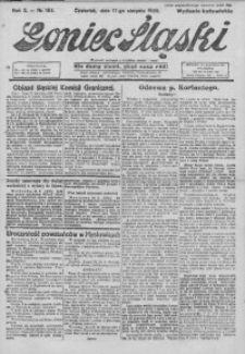 Goniec Śląski, 1922, R. 2, nr 188