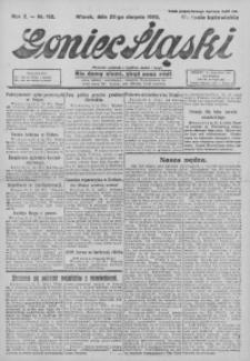 Goniec Śląski, 1922, R. 2, nr 192