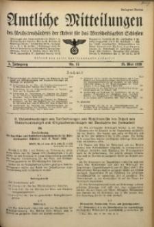 Amtliche Mitteilungen, 1939, Jg. 5, Nr. 15