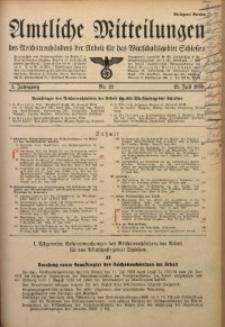 Amtliche Mitteilungen, 1939, Jg. 5, Nr. 21