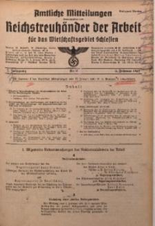 Amtliche Mitteilungen, 1941, Jg. 7, Nr. 4