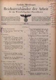 Amtliche Mitteilungen, 1942, Jg. 2, Nr. 9