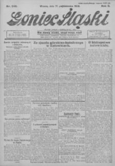 Goniec Śląski, 1922, R. 2, nr 240