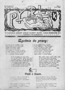 Pyrlik, 1923, nr 1