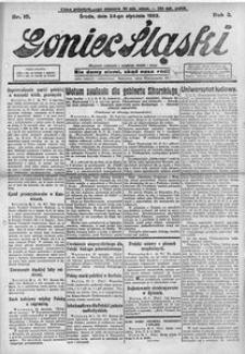 Goniec Śląski, 1923, R. 3, nr 19