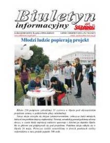 """Biuletyn Informacyjny """"Solidarność"""" 2011, nr 7-8 (326-327)."""