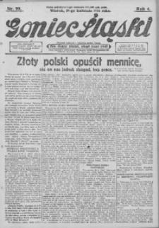 Goniec Śląski, 1924, R. 4, nr 99