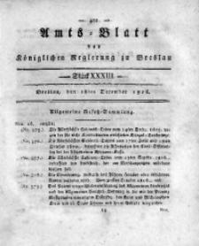 Amts-Blatt der Königlichen Regierung zu Breslau, 1816, Bd. 7, St. 33