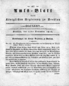 Amts-Blatt der Königlichen Regierung zu Breslau, 1816, Bd. 7, St. 34