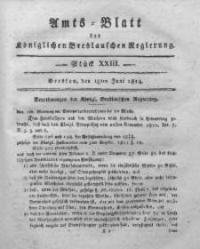 Amts-Blatt der Königlichen Breslauschen Regierung, 1814, Bd. 4, St. 23