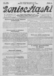 Goniec Śląski, 1924, R. 4, nr 190