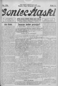 Goniec Śląski, 1925, R. 5, nr 276
