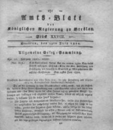 Amts-Blatt der Königlichen Regierung zu Breslau, 1820, Bd. 11, St. 28