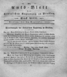 Amts-Blatt der Königlichen Regierung zu Breslau, 1820, Bd. 11, St. 36