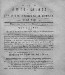 Amts-Blatt der Königlichen Regierung zu Breslau, 1820, Bd. 11, St. 42