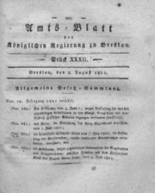 Amts-Blatt der Königlichen Regierung zu Breslau, 1821, Bd. 12, St. 32