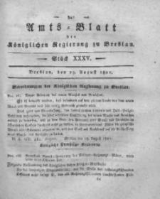 Amts-Blatt der Königlichen Regierung zu Breslau, 1821, Bd. 12, St. 35