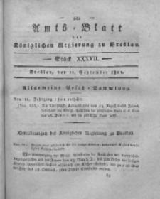 Amts-Blatt der Königlichen Regierung zu Breslau, 1821, Bd. 12, St. 37