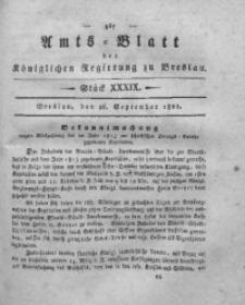 Amts-Blatt der Königlichen Regierung zu Breslau, 1821, Bd. 12, St. 39