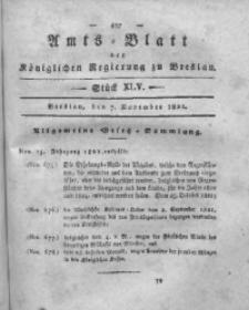 Amts-Blatt der Königlichen Regierung zu Breslau, 1821, Bd. 12, St. 45
