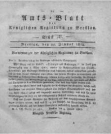 Amts-Blatt der Königlichen Regierung zu Breslau, 1823, Bd. 14, St. 3