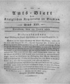 Amts-Blatt der Königlichen Regierung zu Breslau, 1823, Bd. 14, St. 25