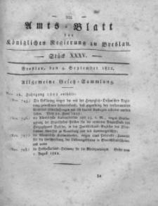 Amts-Blatt der Königlichen Regierung zu Breslau, 1822, Bd. 13, St. 35