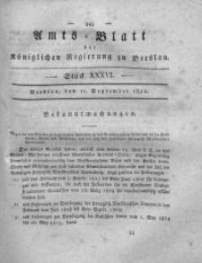 Amts-Blatt der Königlichen Regierung zu Breslau, 1822, Bd. 13, St. 36