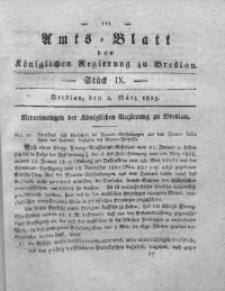 Amts-Blatt der Königlichen Regierung zu Breslau, 1825, Bd. 16, St. 9