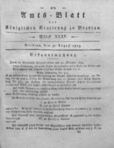 Amts-Blatt der Königlichen Regierung zu Breslau, 1825, Bd. 16, St. 35