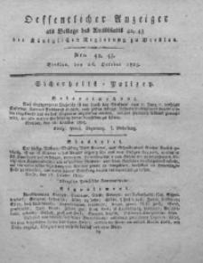 Amts-Blatt der Königlichen Regierung zu Breslau, 1825, Bd. 16, St. _43