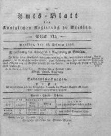 Amts-Blatt der Königlichen Regierung zu Breslau, 1826, Bd. 17, St. 7