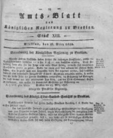 Amts-Blatt der Königlichen Regierung zu Breslau, 1826, Bd. 17, St. 13
