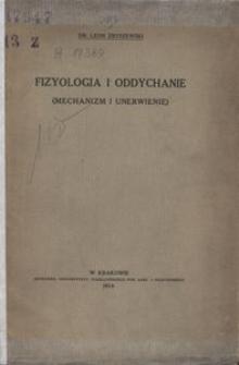 Fizyologia i oddychanie (Mechanizm i unerwienie)